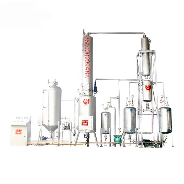 Black-Used-Motor-Oil-Recycling-Plant