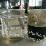 High technology used engine oil refining machine