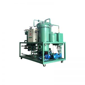 Small schael used motor oil recycling machine